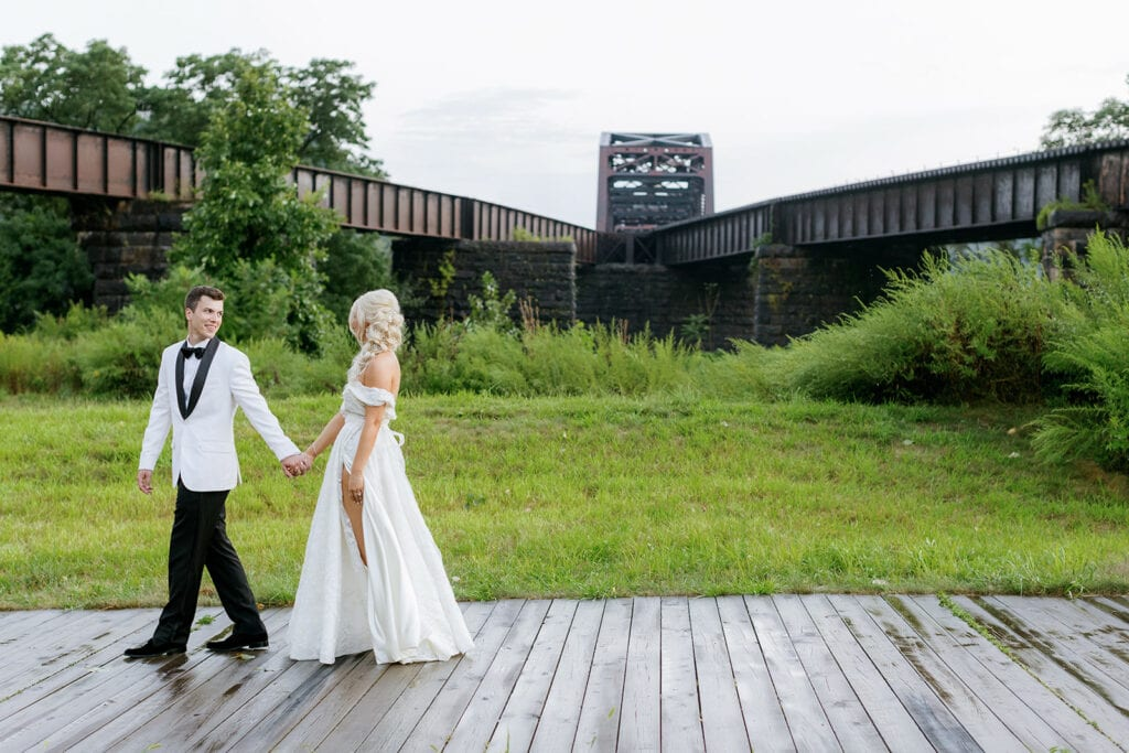 Luxe and Romantic Riverfront Wedding