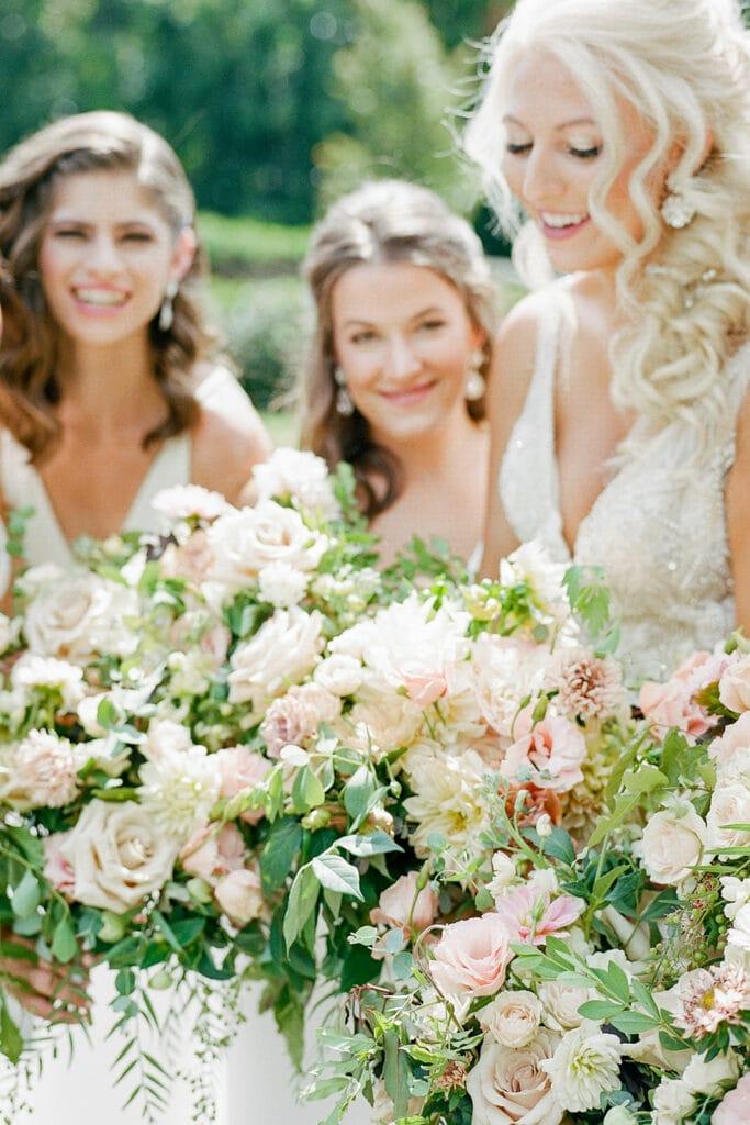 Organic wedding bouquet designs