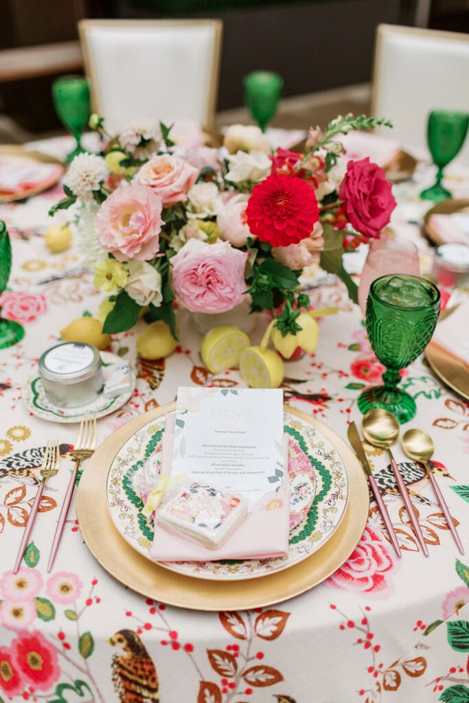 All Occasions Party Rental bridal shower decor
