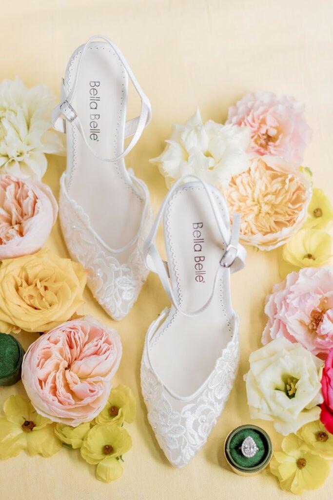 Ivory Bella Belle bridal shoes