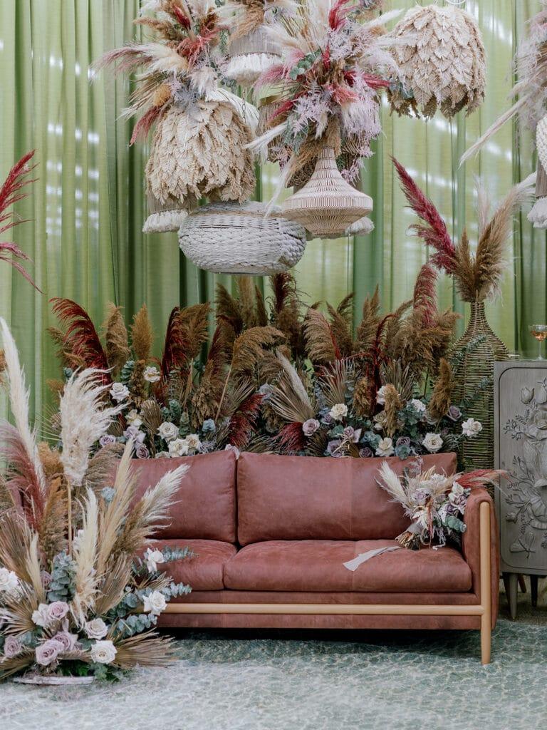 Bohemian wedding lounge ideas