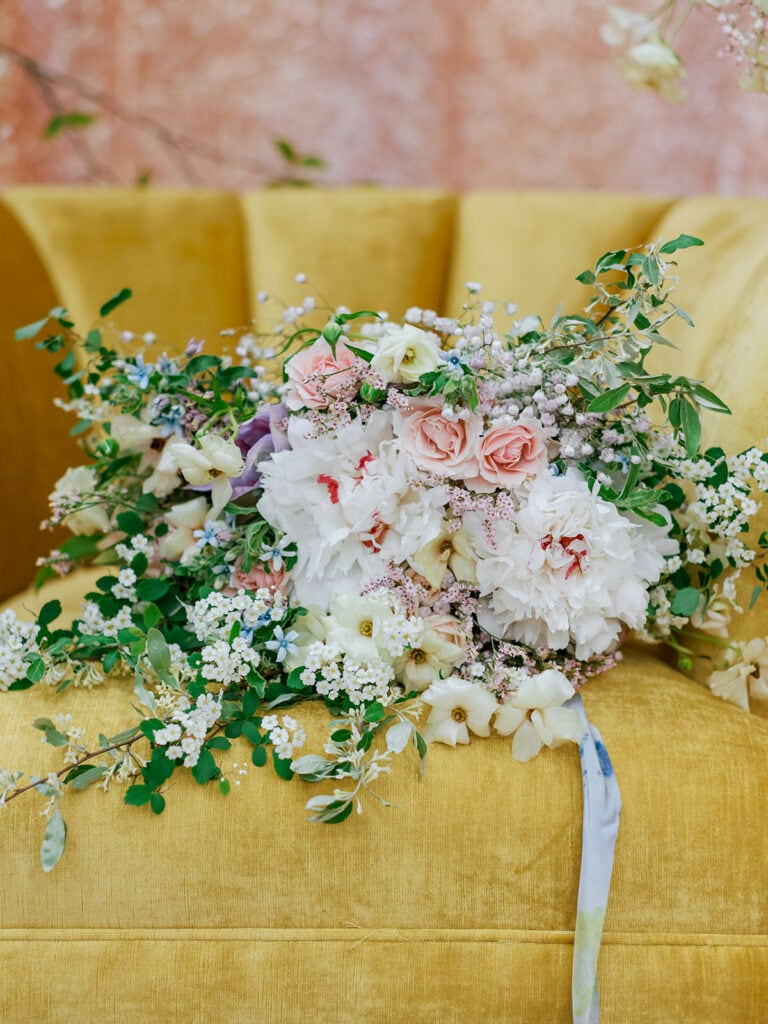 Pittsburgh wedding bouquet design by May Chester Design