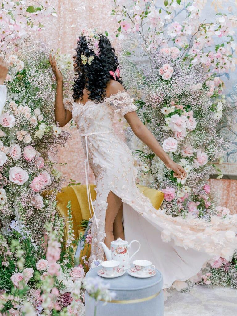 Floral-filled wedding decor