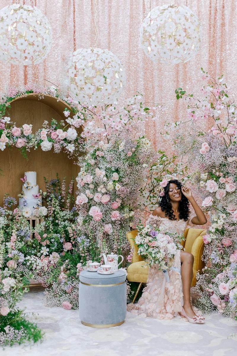 Floral-filled wedding inspiration