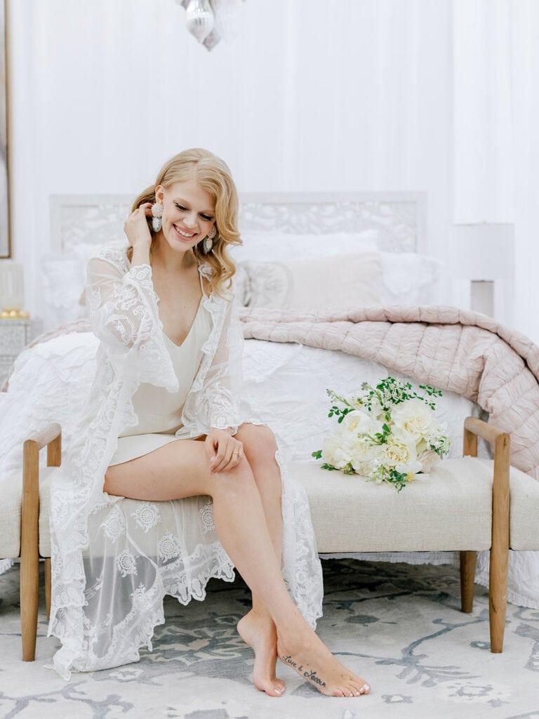 BHLDN bridal getting ready attire