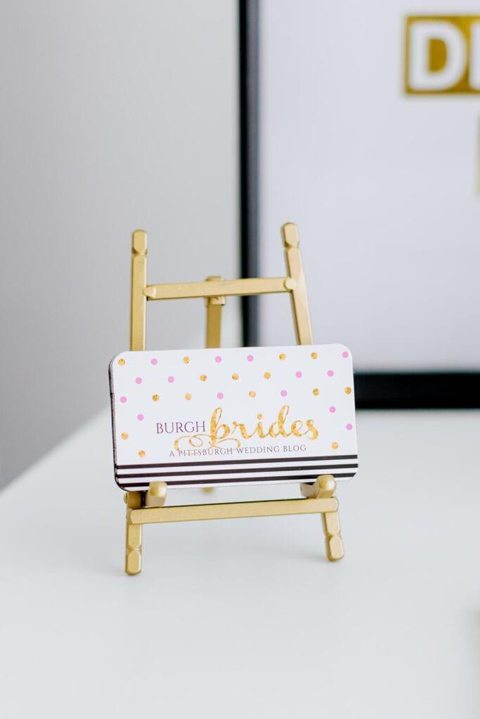 Burgh Brides Pittsburgh Wedding Blog Branding Session