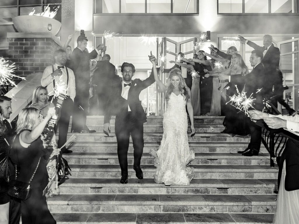 Waypoint 4180 wedding reception exit