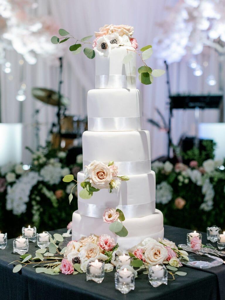 Kims Confections wedding cake