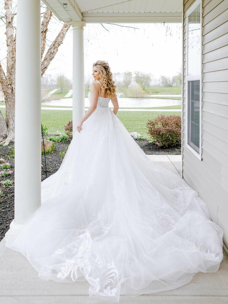 Bridal Beginning wedding gown