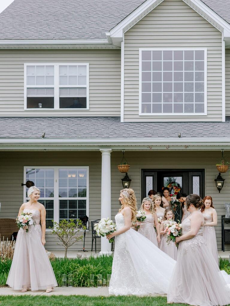 Bridal party escort