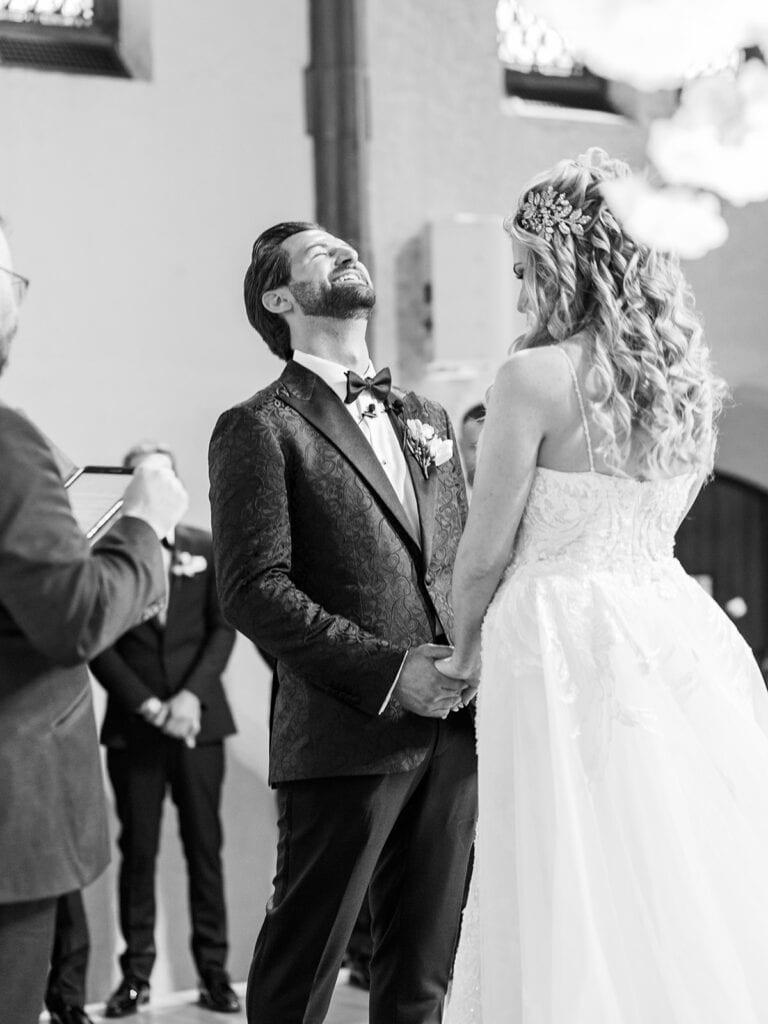 The Butler Institute of Art wedding ceremony