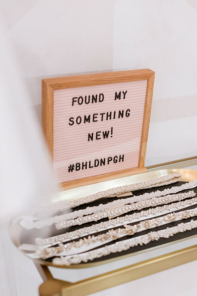 BHLDN Pittsburgh grand opening sign