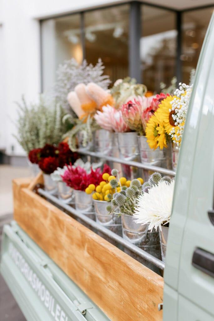 Victoria's Mobile Flower Shop Truck