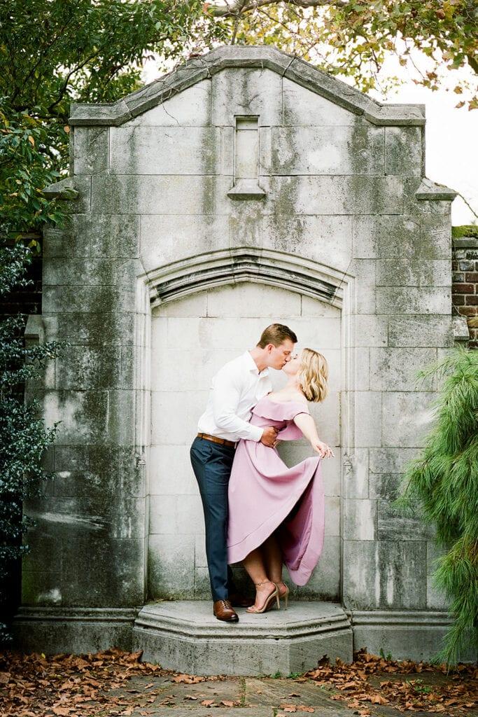 Mellon Park engagement session with Lauren Renee Photography
