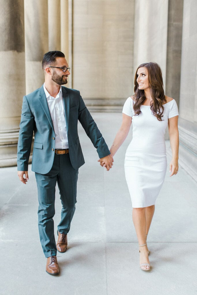Pittsburgh Oakland engagement photography by Lauren Renee