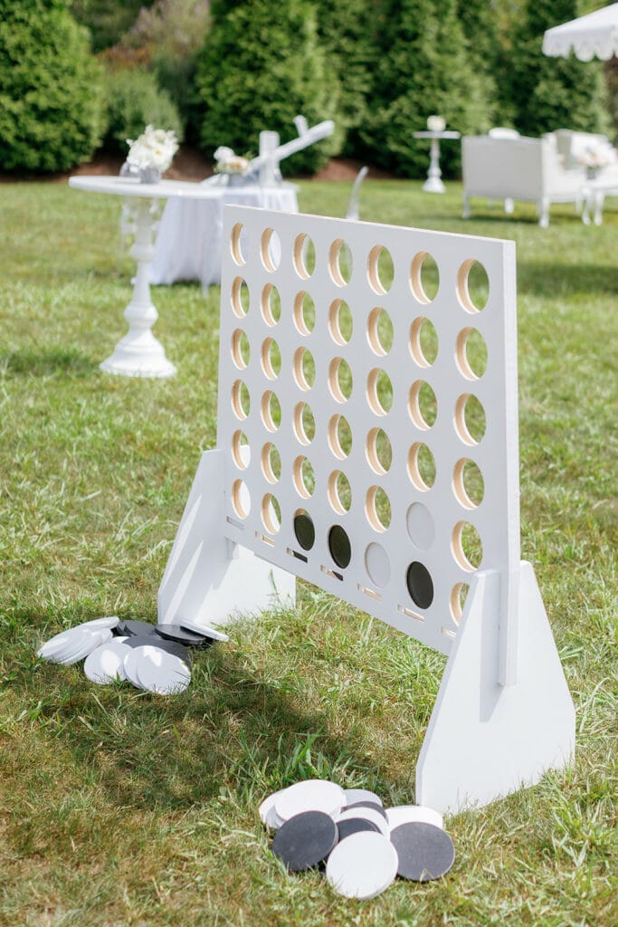 Outdoor anniversary party games