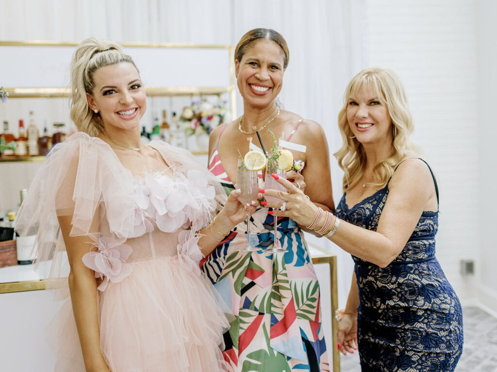 Dance Mom Holly and Dance Mom Melissa at Blogger Sincerely Ryleigh's Bridal Shower