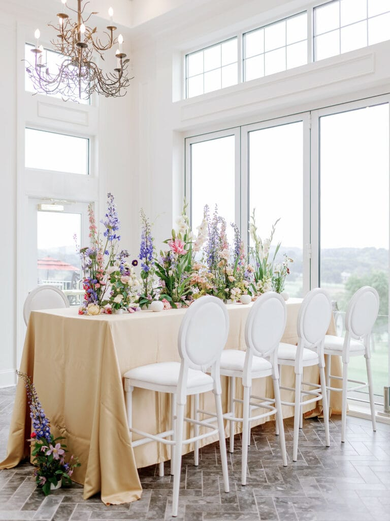 Pittsburgh Field Club Bridal Shower planned by Exhale Events