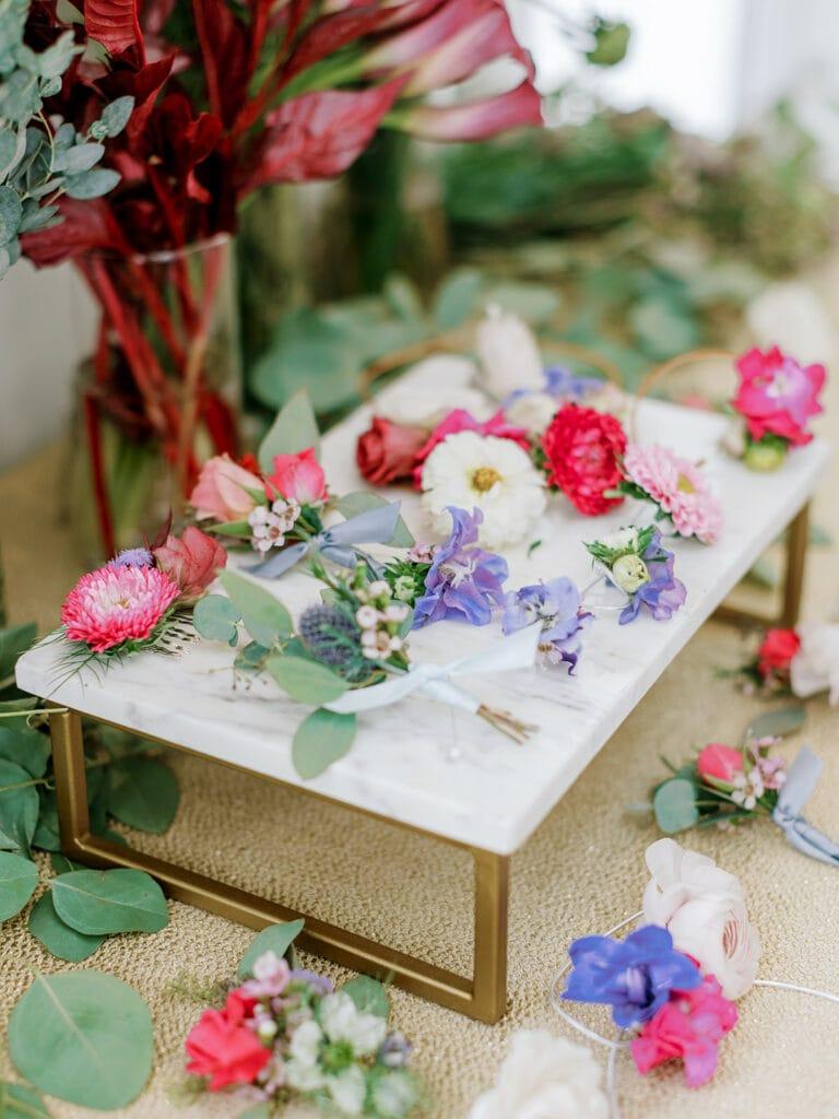 Build Your Own Bouquet Bridal Shower Inspiration