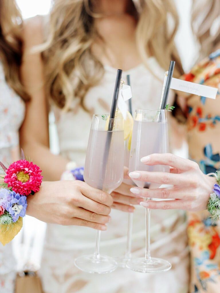 Lavender Signature Bridal Shower Cocktails