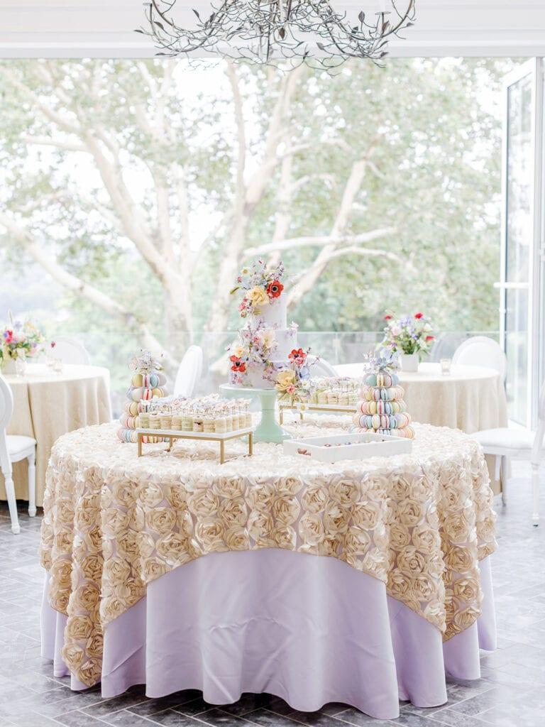 Garden Inspired Bridal Shower Dessert Table