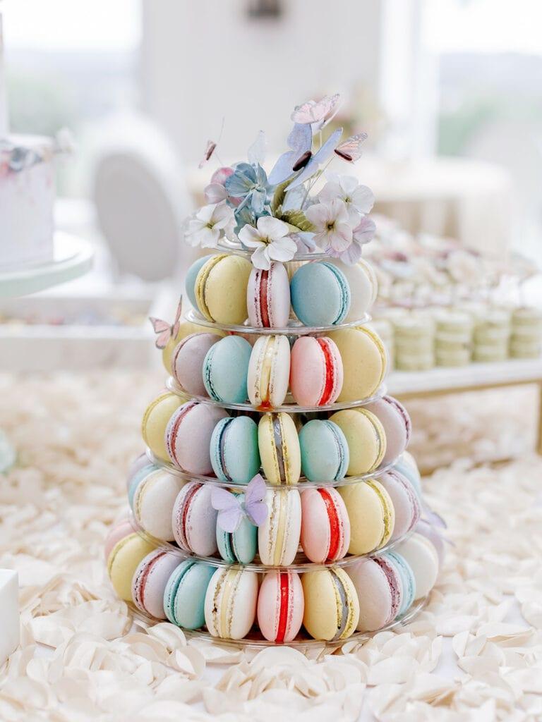 Garden Inspired Bridal Shower Desserts